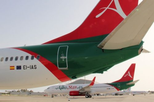 First two Boeing 737-800 next generation aircraft have arrived in Albastar
