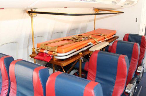 Albastar equipa a su flota de Boeing 737 con camillas médicas