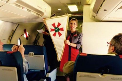 Albastar inaugura la primera línea regular entre Roma y Lourdes