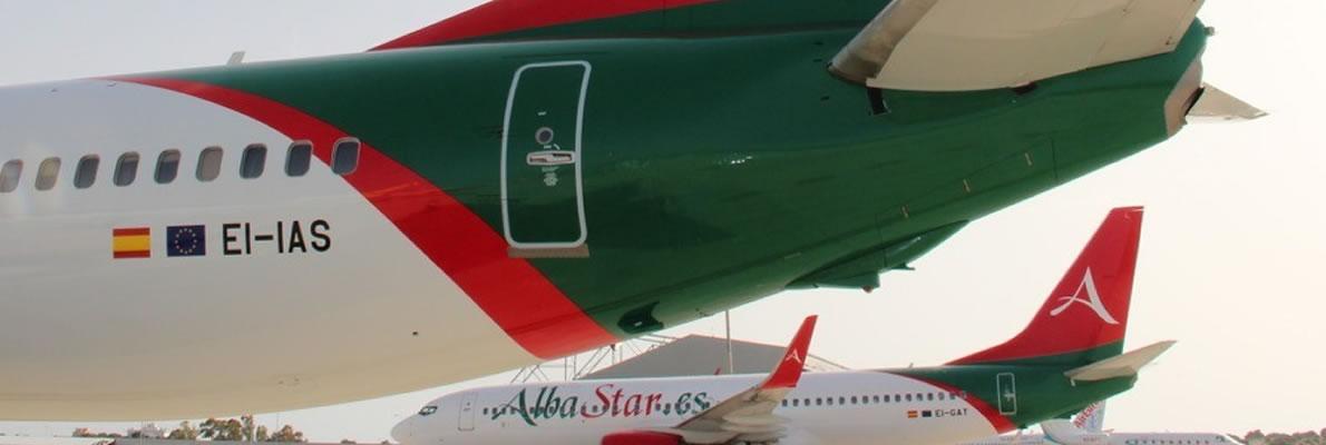 Boeing 737-800 next generation Albastar