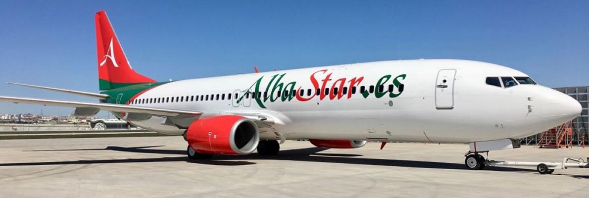 Boeing 737-800 NG Albastar
