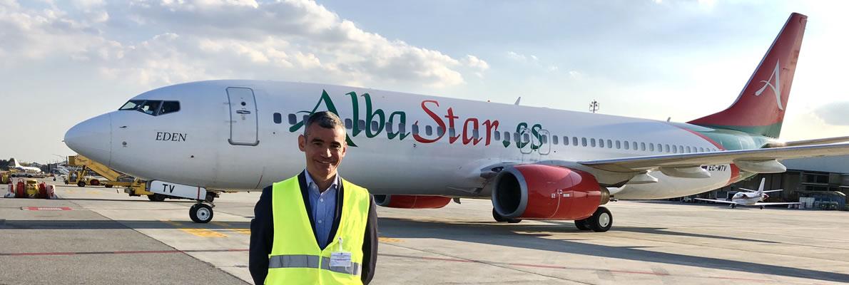 Collaborazioni commerciali compagnia aerea Albastar