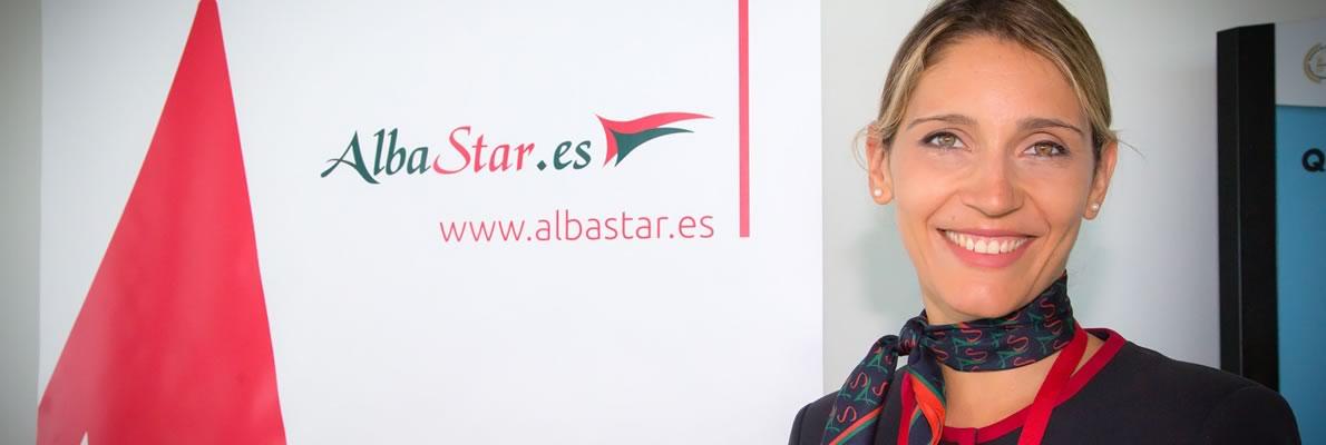 Hostess diventa pilota di linea compagnia aerea Albastar