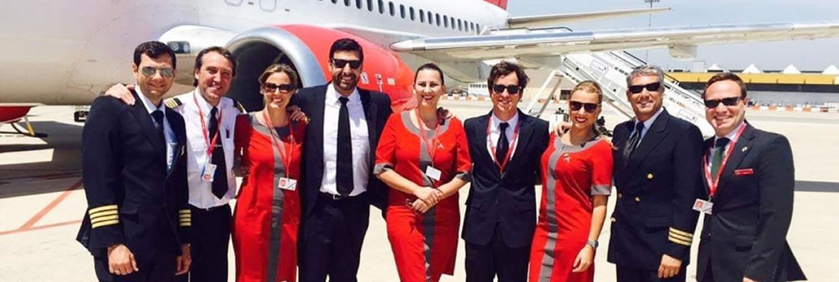 Settimo anniversario primo volo Albastar