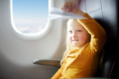 Mum, I caught the plane: how to let your child fly alone with Albastar