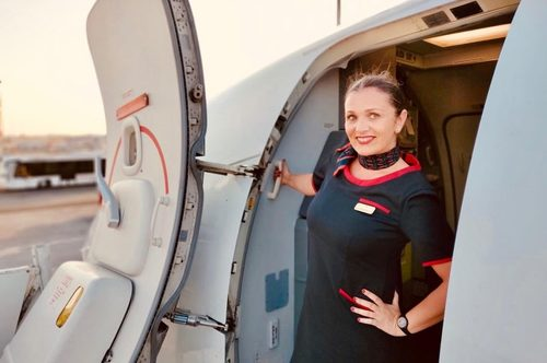 Today we introduce Leticia Martinez, Senior Cabin Crew Member in Albastar