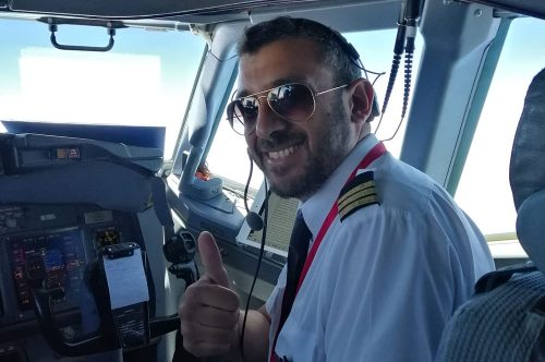 Today we introduce Claudio Scordato, one of the Albastar's pilot