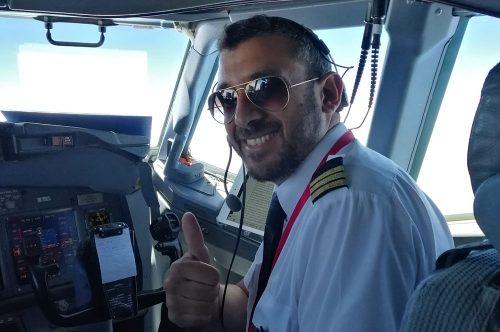 Hoy presentamos Claudio Scordato, piloto de Albastar